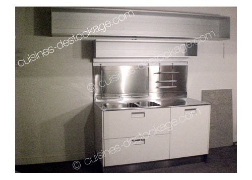 Kitchenette blanche Arc Linea